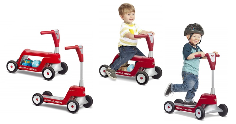 Radio flyer scoot-2 scooter ride on