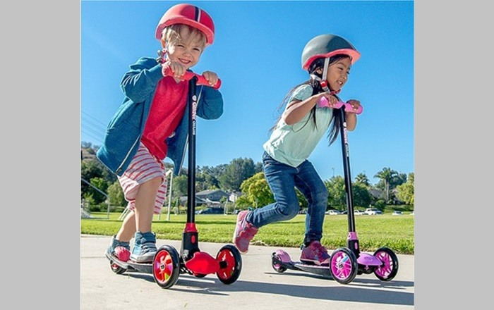 Yvolution Y Glider Deluxe Kick Scooter